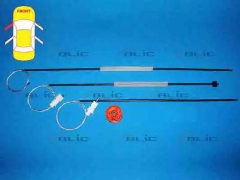 BLIC 6205-09-040807P - Kit de réparation, lève-vitre www.widencarpieces.com