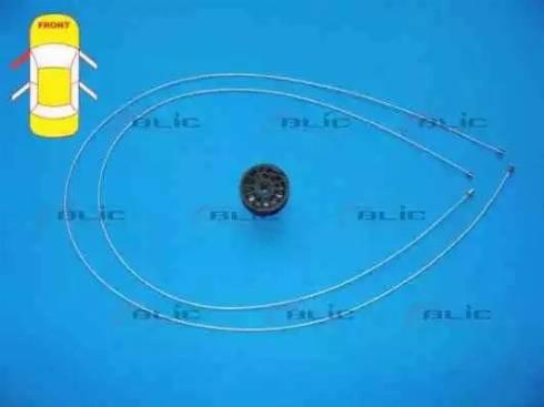 BLIC 6205-09-048807P - Kit de réparation, lève-vitre www.widencarpieces.com