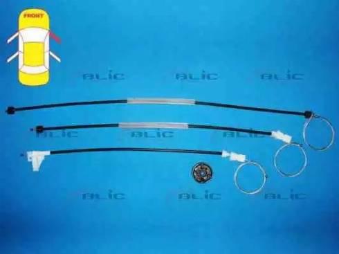 BLIC 6205-09-043806P - Kit de réparation, lève-vitre www.widencarpieces.com