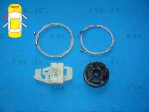 BLIC 6205-09-047803P - Kit de réparation, lève-vitre www.widencarpieces.com