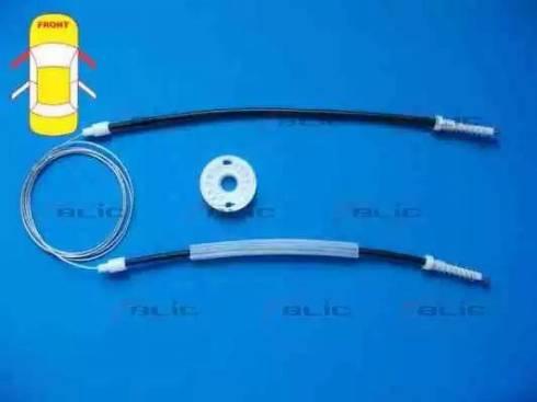 BLIC 6205-09-030812P - Kit de réparation, lève-vitre www.widencarpieces.com