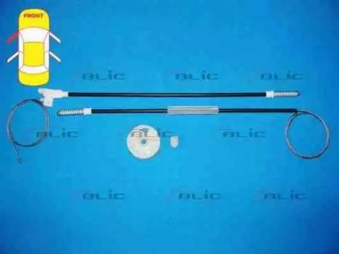 BLIC 6205-09-025809P - Kit de réparation, lève-vitre www.widencarpieces.com