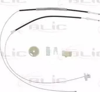 BLIC 6205-09-025818P - Kit de réparation, lève-vitre www.widencarpieces.com