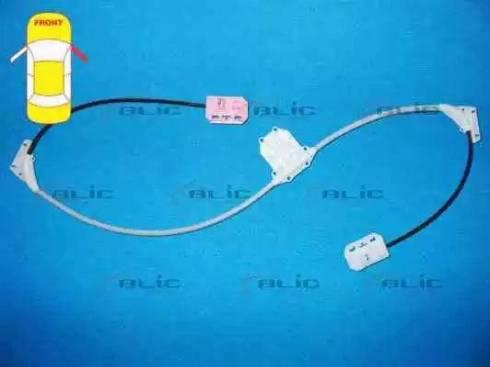 BLIC 6205-09-100832P - Kit de réparation, lève-vitre www.widencarpieces.com