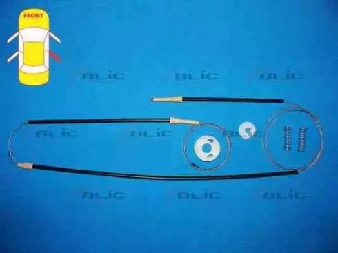 BLIC 6205-05-011816P - Kit de réparation, lève-vitre www.widencarpieces.com