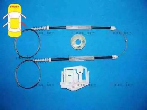 BLIC 6205-05-018804P - Kit de réparation, lève-vitre www.widencarpieces.com