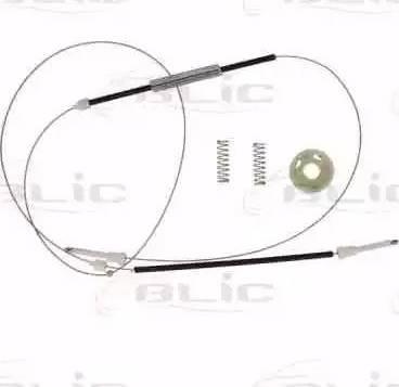 BLIC 6205-05-018816P - Kit de réparation, lève-vitre www.widencarpieces.com