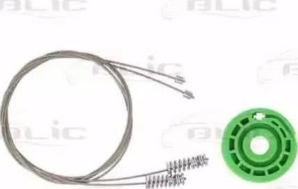 BLIC 6205-05-021814P - Kit de réparation, lève-vitre www.widencarpieces.com