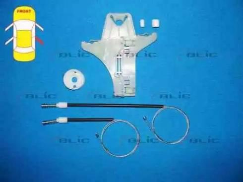 BLIC 6205-01-040804P - Kit de réparation, lève-vitre www.widencarpieces.com