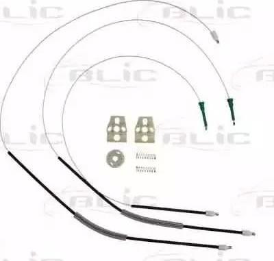 BLIC 6205-01-040801P - Kit de réparation, lève-vitre www.widencarpieces.com