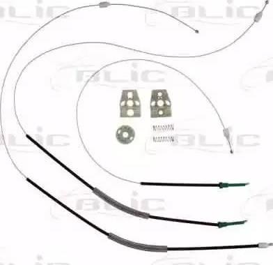 BLIC 6205-01-040802P - Kit de réparation, lève-vitre www.widencarpieces.com