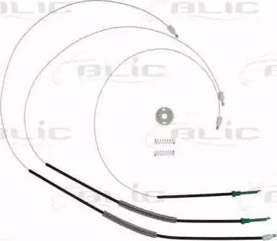 BLIC 6205-01-040807P - Kit de réparation, lève-vitre www.widencarpieces.com