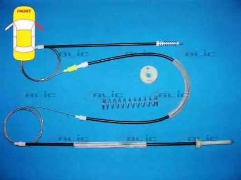 BLIC 6205-01-051806P - Kit de réparation, lève-vitre www.widencarpieces.com