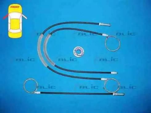 BLIC 6205-01-053809P - Kit de réparation, lève-vitre www.widencarpieces.com