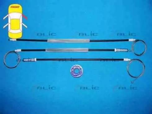 BLIC 6205-01-053806P - Kit de réparation, lève-vitre www.widencarpieces.com