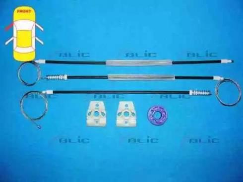 BLIC 6205-01-053801P - Kit de réparation, lève-vitre www.widencarpieces.com