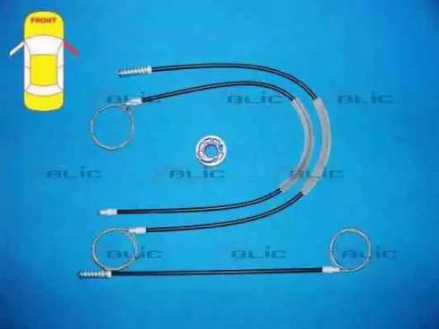 BLIC 6205-01-053808P - Kit de réparation, lève-vitre www.widencarpieces.com