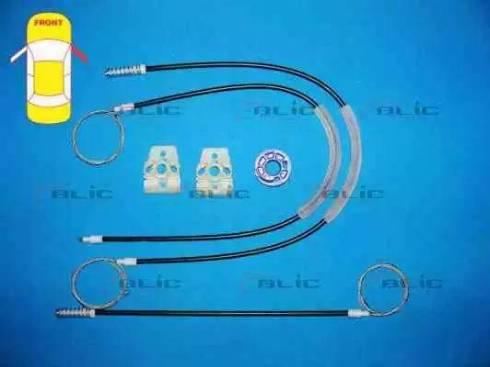 BLIC 6205-01-053818P - Kit de réparation, lève-vitre www.widencarpieces.com