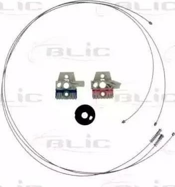 BLIC 6205-01-052801P - Kit de réparation, lève-vitre www.widencarpieces.com