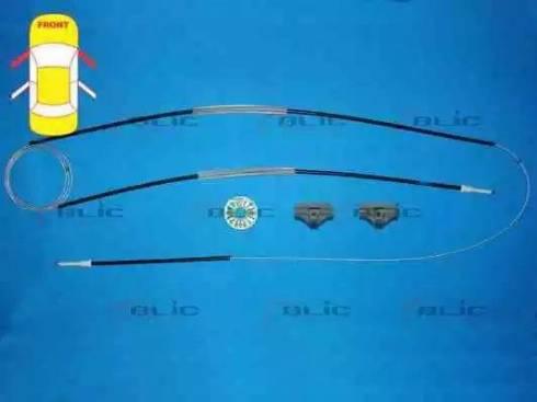 BLIC 6205-01-009800P - Kit de réparation, lève-vitre www.widencarpieces.com