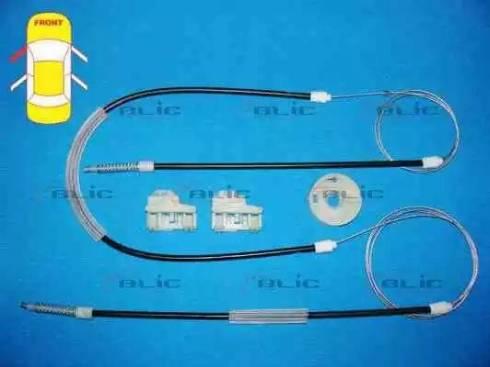 BLIC 6205-01-009801P - Kit de réparation, lève-vitre www.widencarpieces.com