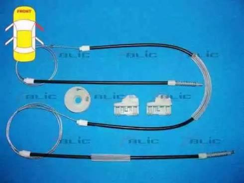 BLIC 6205-01-009802P - Kit de réparation, lève-vitre www.widencarpieces.com