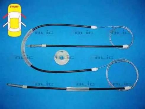 BLIC 6205-01-009812P - Kit de réparation, lève-vitre www.widencarpieces.com