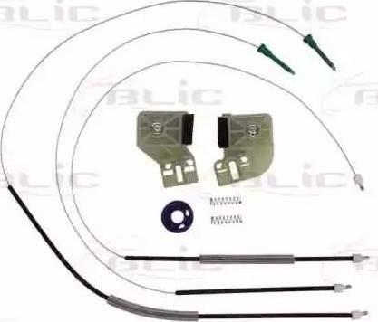 BLIC 6205-01-035801P - Kit de réparation, lève-vitre www.widencarpieces.com