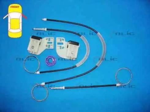 BLIC 6205-01-035818P - Kit de réparation, lève-vitre www.widencarpieces.com