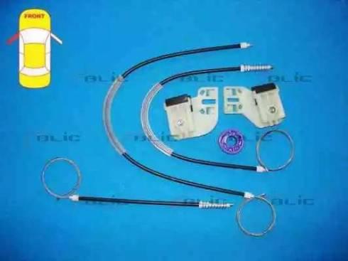 BLIC 6205-01-035817P - Kit de réparation, lève-vitre www.widencarpieces.com