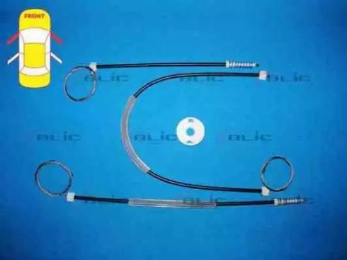 BLIC 6205-01-038812P - Kit de réparation, lève-vitre www.widencarpieces.com