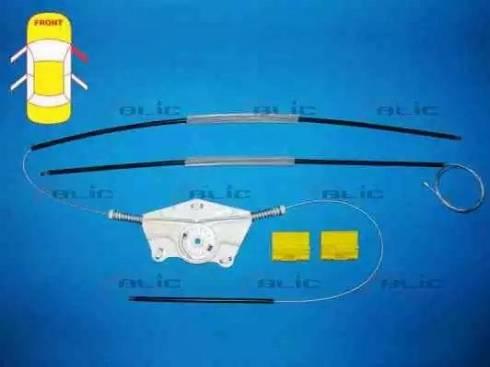 BLIC 6205-01-037802P - Kit de réparation, lève-vitre www.widencarpieces.com