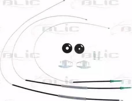 BLIC 6205-08-015800P - Kit de réparation, lève-vitre www.widencarpieces.com