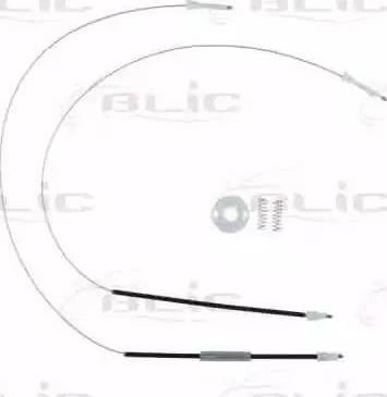 BLIC 6205-08-013812P - Kit de réparation, lève-vitre www.widencarpieces.com