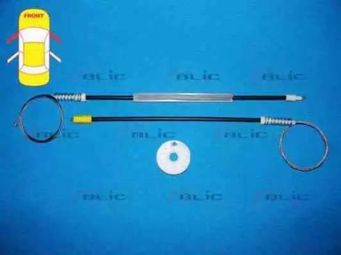 BLIC 6205-08-017812P - Kit de réparation, lève-vitre www.widencarpieces.com