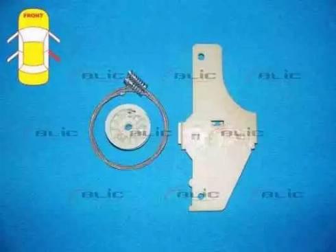 BLIC 6205-08-024804P - Kit de réparation, lève-vitre www.widencarpieces.com