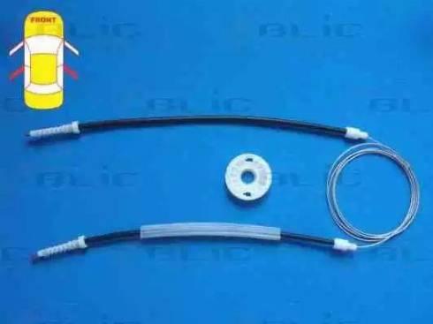 BLIC 6205-08-020814P - Kit de réparation, lève-vitre www.widencarpieces.com