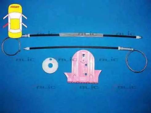 BLIC 6205-03-043803P - Kit de réparation, lève-vitre www.widencarpieces.com