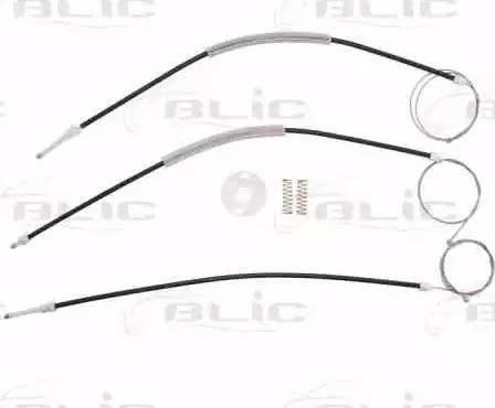 BLIC 6205-03-043812P - Kit de réparation, lève-vitre www.widencarpieces.com