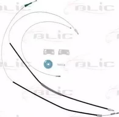 BLIC 6205-03-016804P - Kit de réparation, lève-vitre www.widencarpieces.com