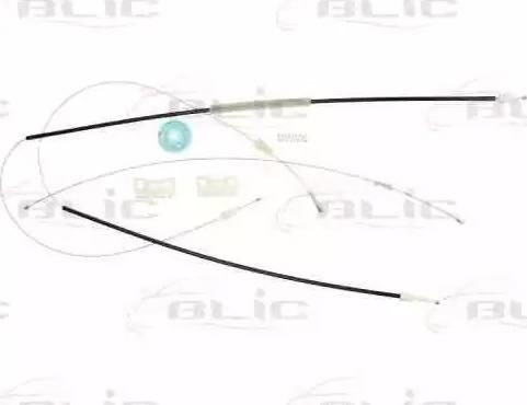 BLIC 6205-03-016803P - Kit de réparation, lève-vitre www.widencarpieces.com