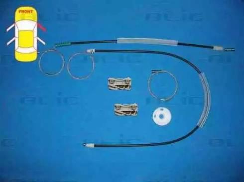 BLIC 6205-03-016802P - Kit de réparation, lève-vitre www.widencarpieces.com