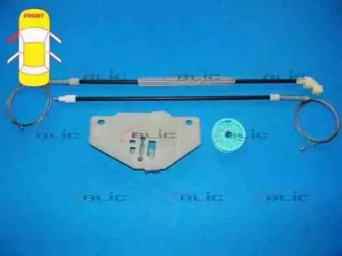 BLIC 6205-03-037801P - Kit de réparation, lève-vitre www.widencarpieces.com
