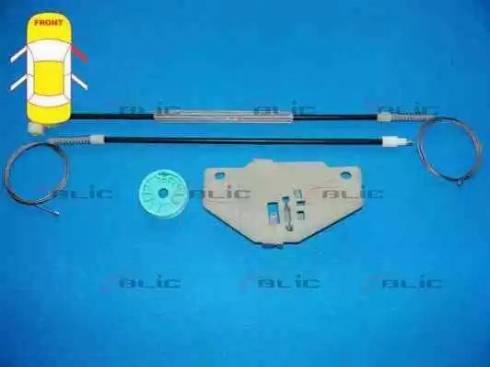 BLIC 6205-03-037802P - Kit de réparation, lève-vitre www.widencarpieces.com