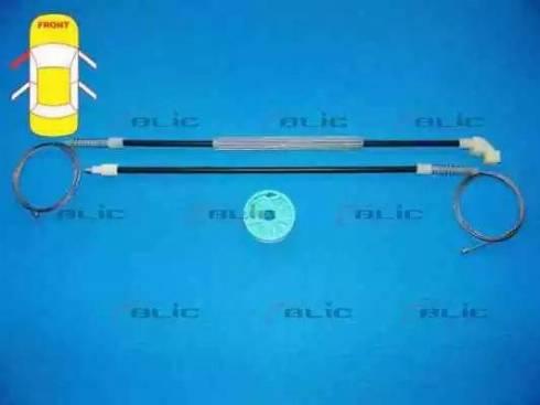 BLIC 6205-03-037807P - Kit de réparation, lève-vitre www.widencarpieces.com