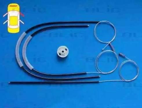 BLIC 6205-02-020806P - Kit de réparation, lève-vitre www.widencarpieces.com