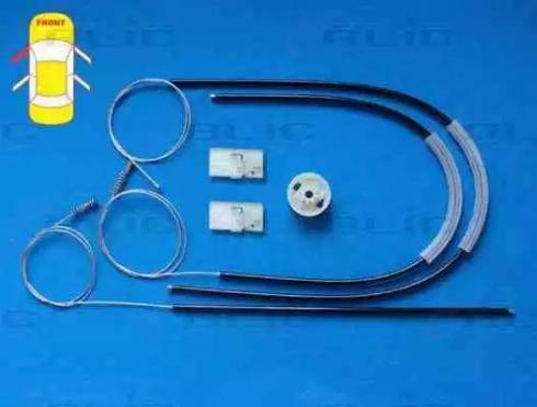 BLIC 6205-02-020801P - Kit de réparation, lève-vitre www.widencarpieces.com