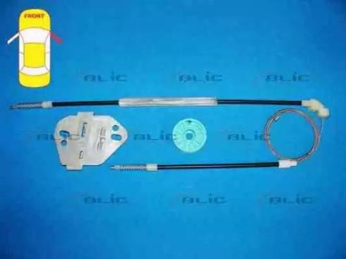 BLIC 6205-02-100802P - Kit de réparation, lève-vitre www.widencarpieces.com