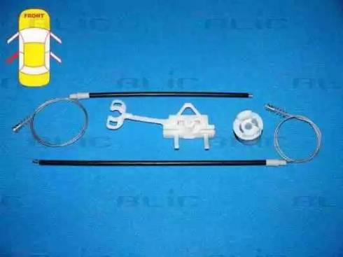 BLIC 6205-07-036803P - Kit de réparation, lève-vitre www.widencarpieces.com