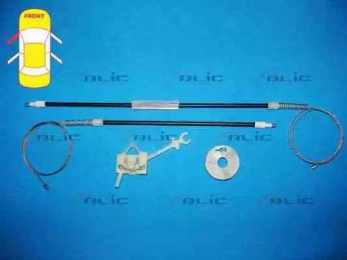 BLIC 6205-07-033801P - Kit de réparation, lève-vitre www.widencarpieces.com